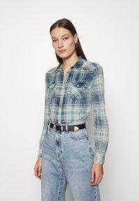 LTB - LUCINDA - Button-down blouse - malibu check wash - 0
