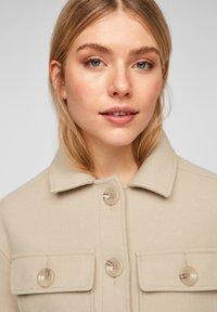 Q/S designed by - Summer jacket - beige - 5