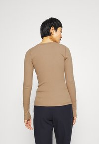 Abercrombie & Fitch - Long sleeved top - tan - 2