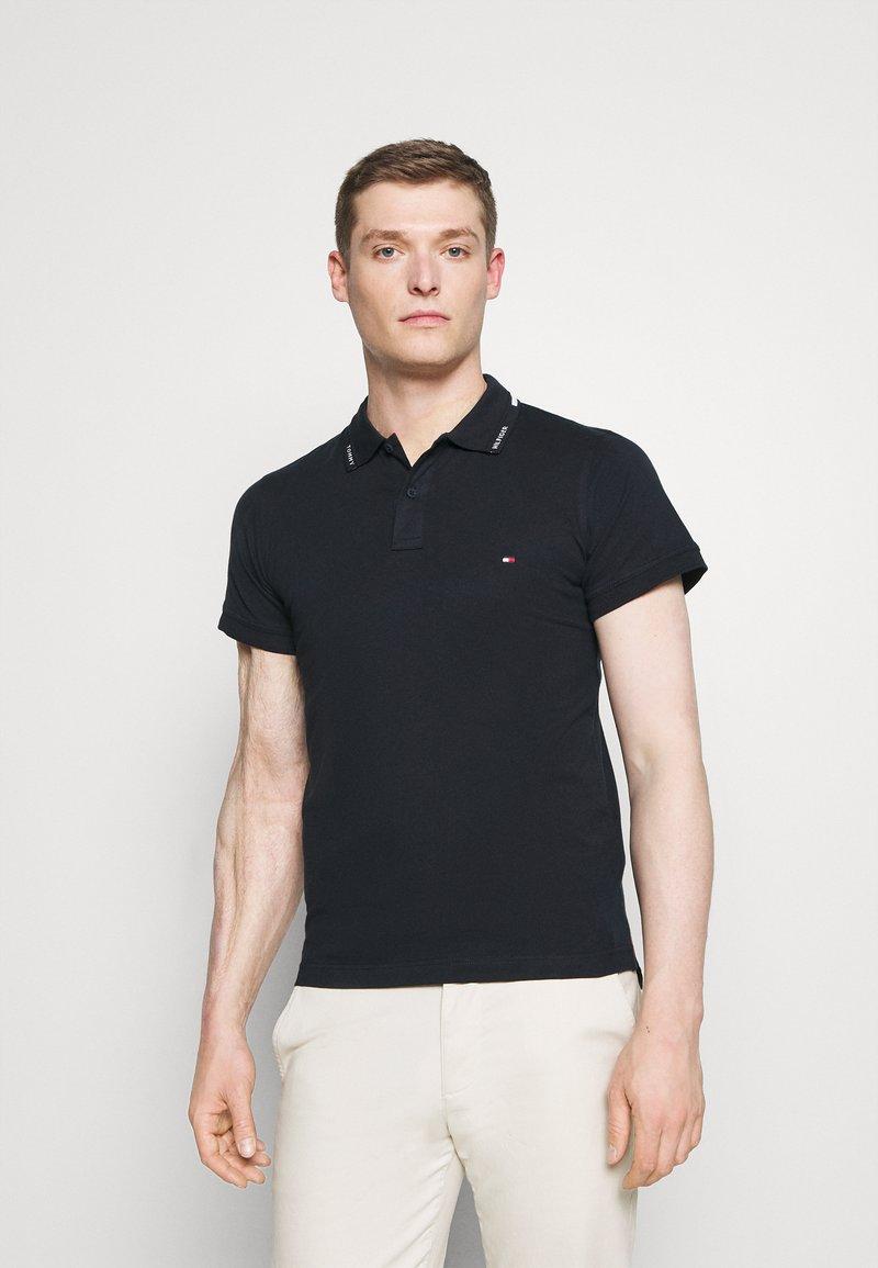 Tommy Hilfiger - COLLAR - Polo shirt - desert sky