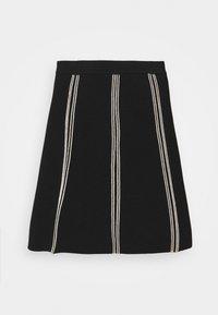 sandro - EUDINE - Mini skirt - noir - 3