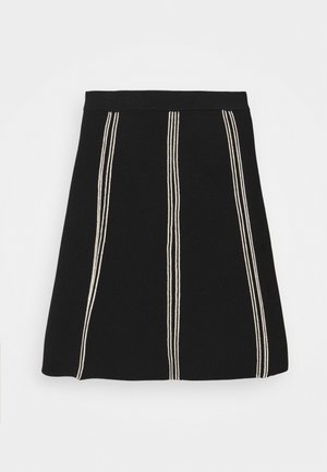 EUDINE - Mini skirt - noir