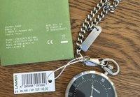 LAIMER - LAIMER QUARZ HOLZUHR - ANALOGE TASCHENUHR SANDELHOLZ - Watch - silver - 7