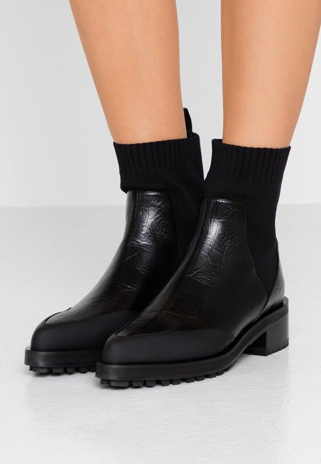 VENEZIA - Classic ankle boots - nero