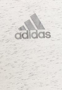 adidas Performance - LOGO TEE - Camiseta estampada - white/Silver - 2