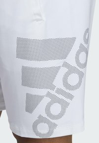 adidas Performance - 4KRFT SPORT GRAPHIC SHORTS - Träningsshorts - white - 3