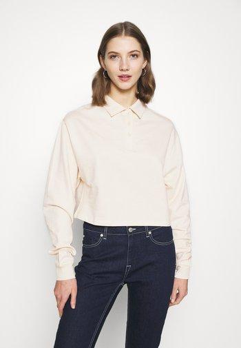 BUTTON  - Sweatshirt - creme