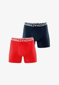 MUCHACHOMALO - 2ER PACK - Pants - dark blue - 0