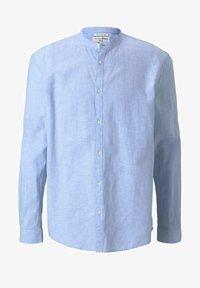 TOM TAILOR DENIM - Camisa - light blue white chambray - 4