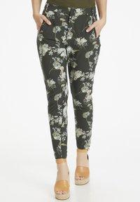 InWear - Trousers - rust elderflower - 0