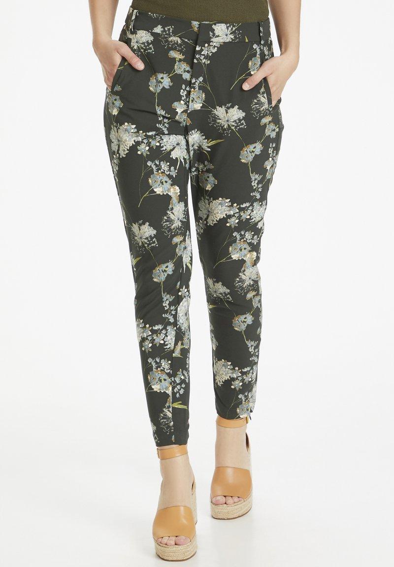 InWear - Trousers - rust elderflower