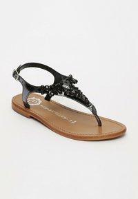 Les Bagatelles - GENIA   - T-bar sandals - black - 1
