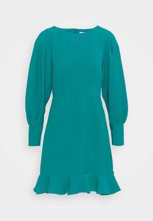 PEP HEM PENCIL DRESS - Shift dress - blue