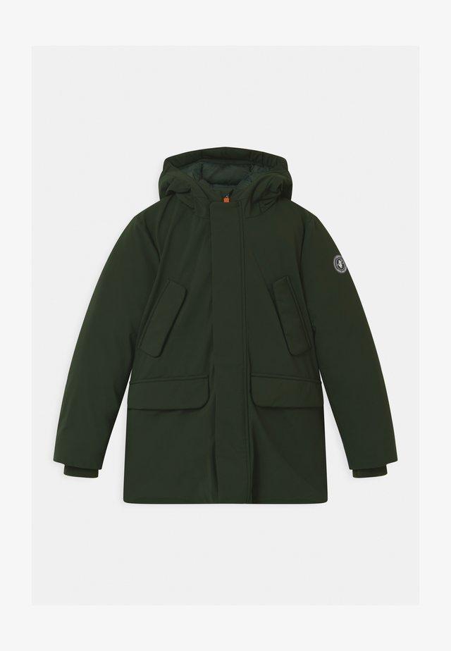 SMEGY - Vinterkåpe / -frakk - green black