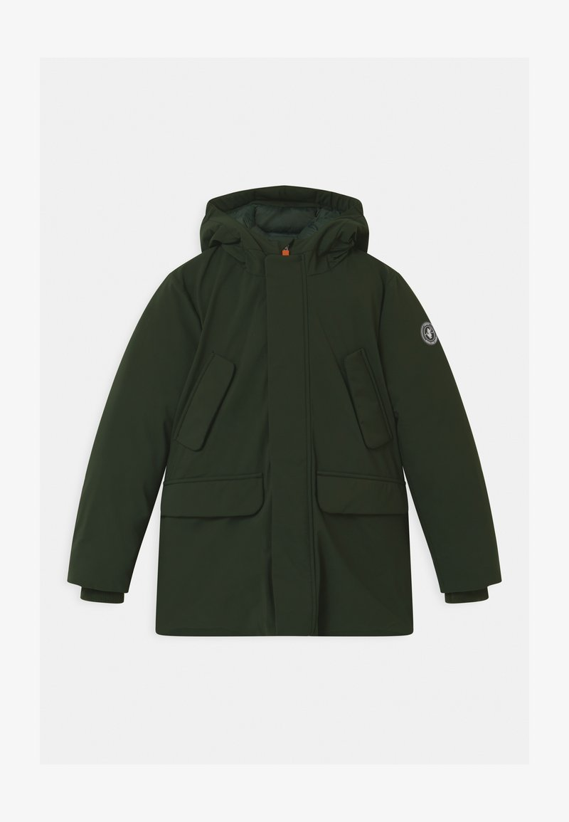 Save the duck - SMEGY - Winter coat - green black