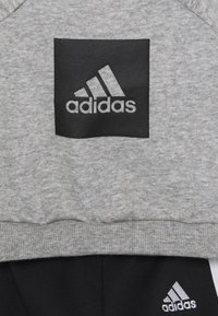 adidas Performance - LOGO SET UNISEX - Trainingspak - medium grey heather/black - 3