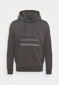 Peak Performance - GROUND HOOD - Sweatshirt - motion grey - 4