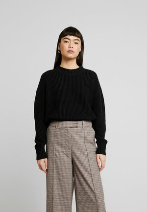 SLFBAILEY SLIT - Jumper - black