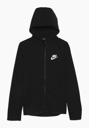 TECH FLEECE ESSENTIALS - Zip-up sweatshirt - black/white