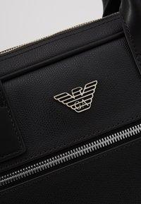 Emporio Armani - Briefcase - black - 3