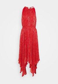 MICHAEL Michael Kors - PLEATD HALTR - Cocktail dress / Party dress - crimson - 6
