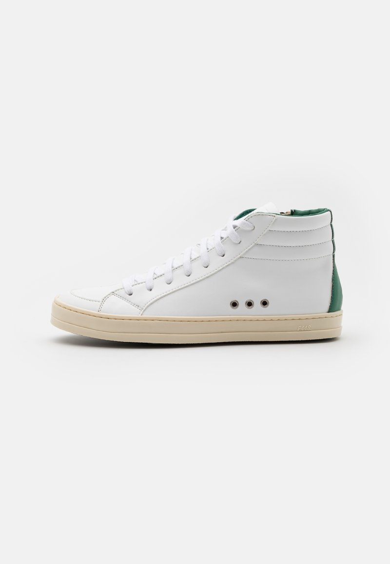 P448 - SKATE VEGAN UNISEX - Vysoké tenisky - white/green