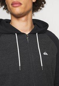 Quiksilver - EVERYDAY ZIP - Zip-up sweatshirt - dark grey heather - 5