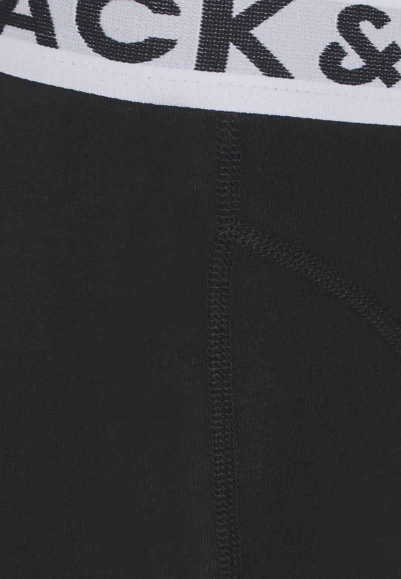 Jack & Jones TRUNKS 3 PACK - Panties - black/schwarz 7uR5KV
