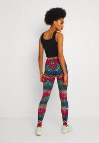 Never Fully Dressed - RAINBOW LEOPARD LEGGINGS - Leggings - Trousers - multi - 2