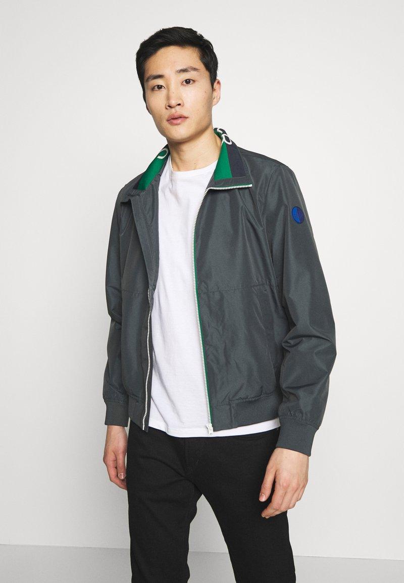 s.Oliver - Summer jacket - grey/black