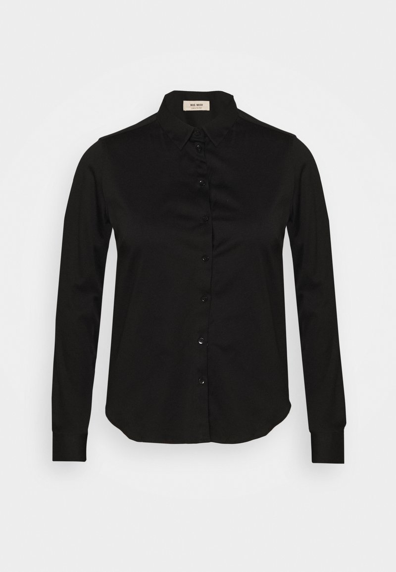 Mos Mosh - TINA - Button-down blouse - black