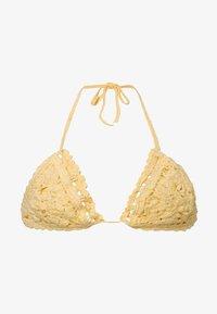 OYSHO - Bikini top - yellow - 5