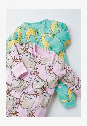 2 PIECE PACK  - Sleep suit - purple