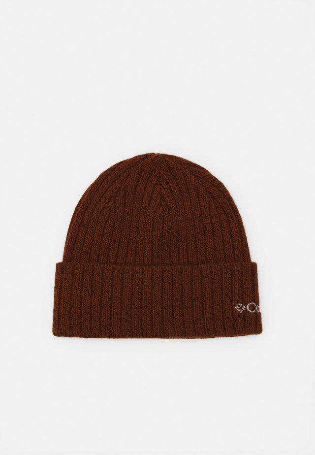 WATCH UNISEX - Beanie - dark amber/black marled