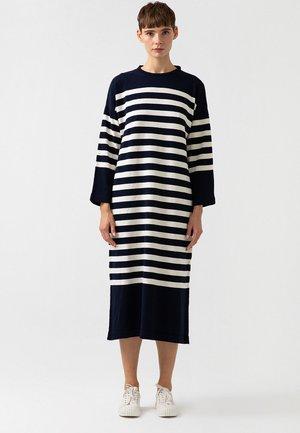 STRIPED  - Maxi dress - dark blue