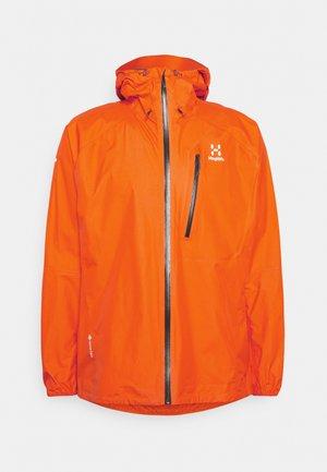 JACKET MEN - Outdoorjas - flame orange