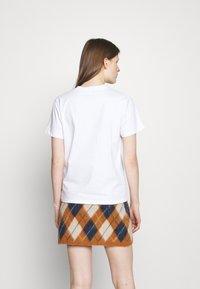 Alexa Chung - ALEXA BOXY TEE - T-Shirt print - white - 2