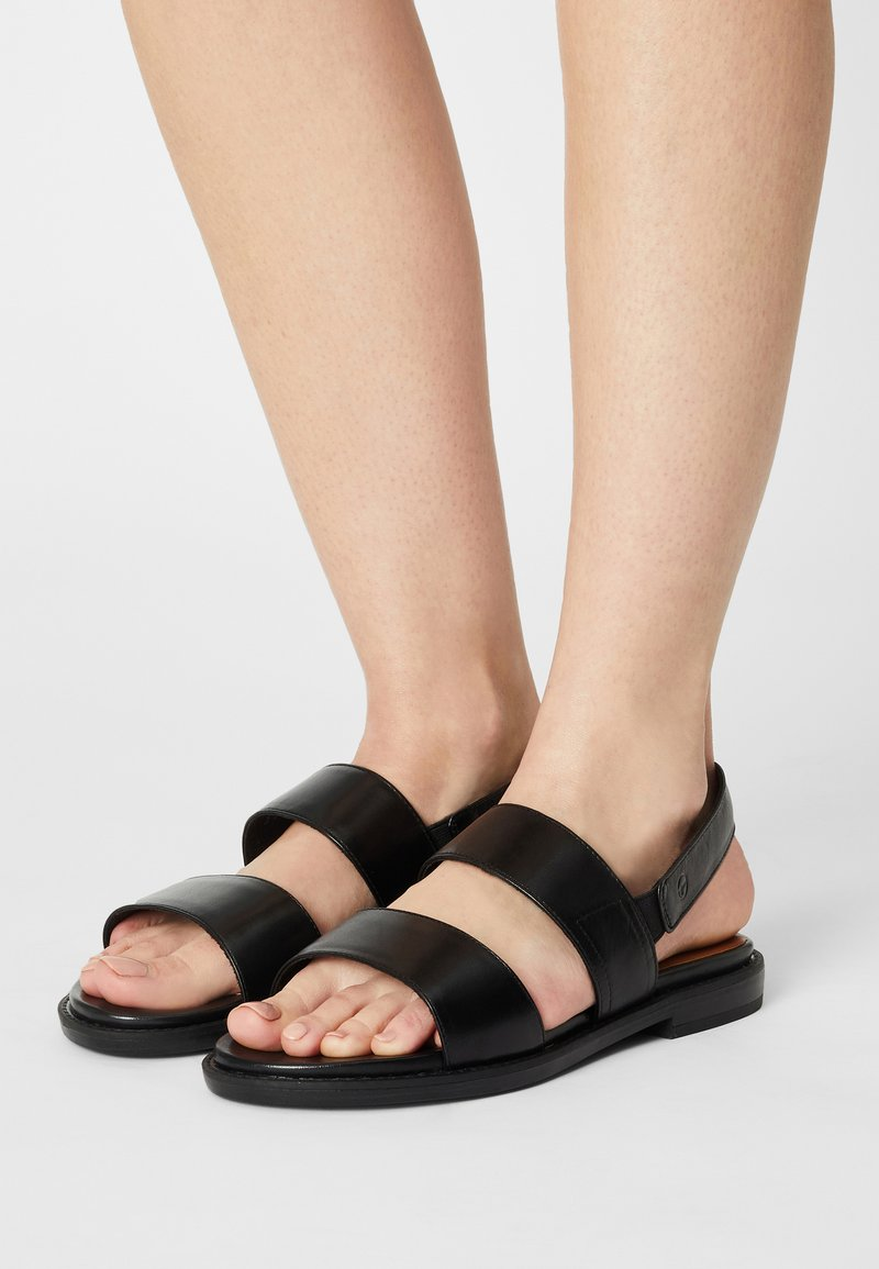 Tamaris GreenStep - Sandals - black