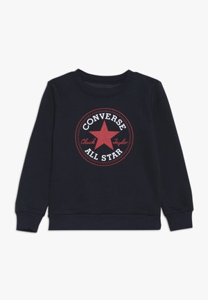 CHUCK PATCH CREW - Sweatshirt - obsidian