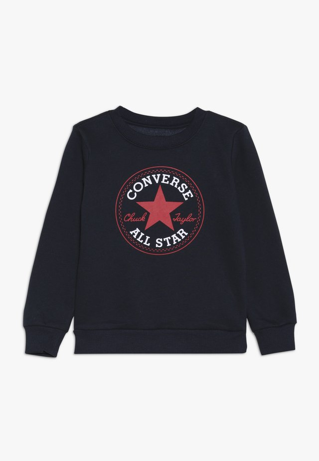 CHUCK PATCH CREW - Sweater - obsidian