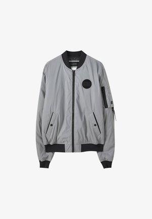 Bomberjacks - mottled light grey