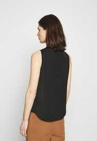 Anna Field - Sleeveless Blouse with gathers - Blouse - black - 2