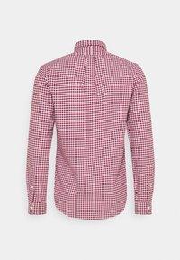 Polo Ralph Lauren - LONG SLEEVE SPORT - Shirt - wine/white - 1