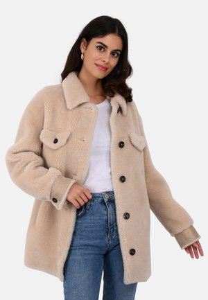 PENELOPE - Short coat - beige