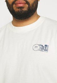 Edwin - MONDOKORO - Print T-shirt - whisper white - 4