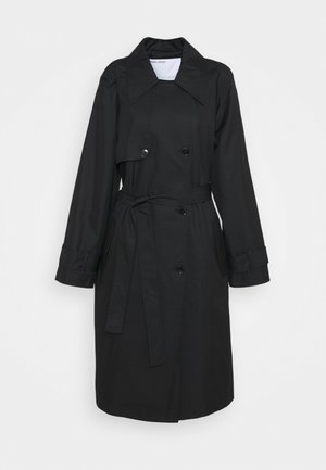 BILLY - Trenchcoat - black