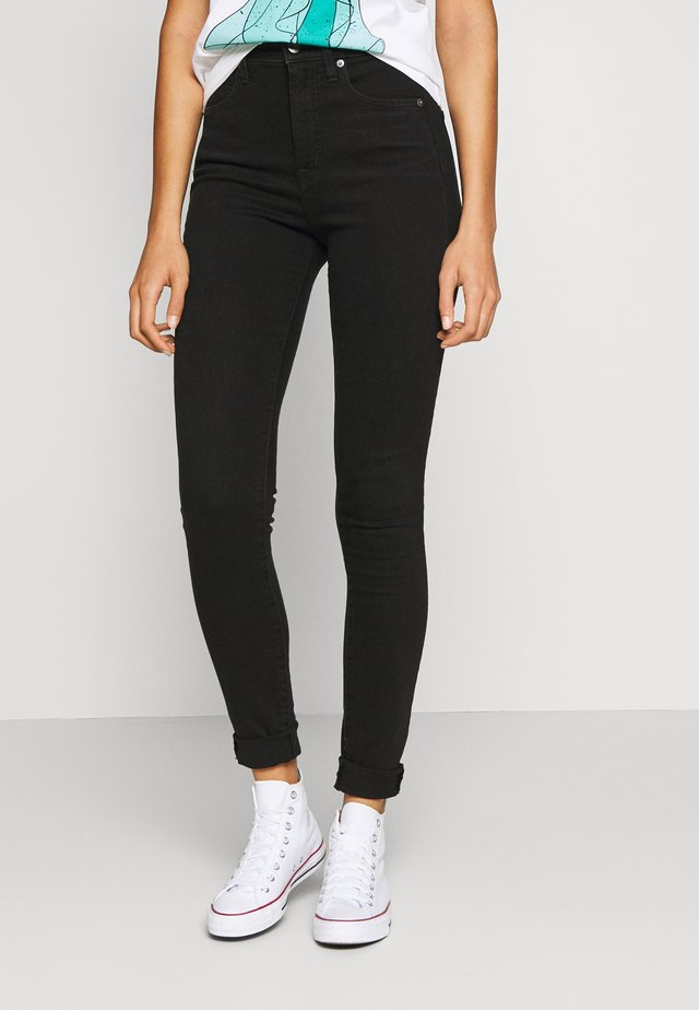 SKINNY SAMANTHA - Jeans Skinny Fit - true black