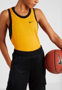 Nike Performance - NIKE DRI-FIT DAMEN-BASKETBALLSHORTS - Sports shorts - black/anthracite - 3