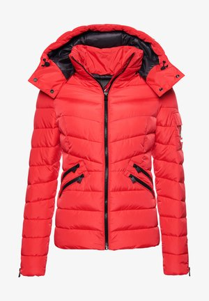Winter jacket - festive red