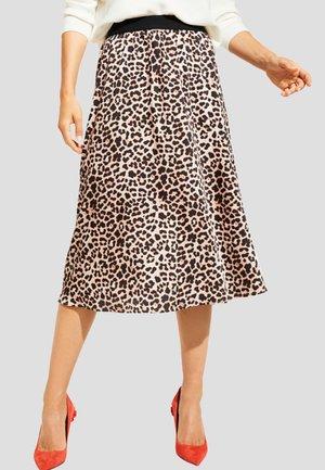 A-line skirt - champagner